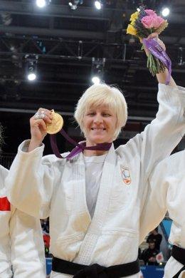 La judoca malagueña Carmen Herrera