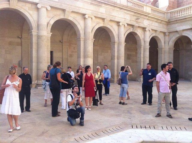 Fam trip de agentes alemanes en Almería
