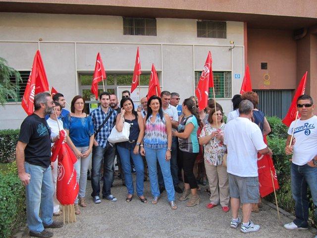 Trabajadores de Pérez Giménez ante el Juzgado de lo Mercantil