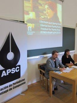 """La APSC """"Apadrina"""" A La Periodista Turca Zeynep Kuray, Acusada De Terrorismo"""
