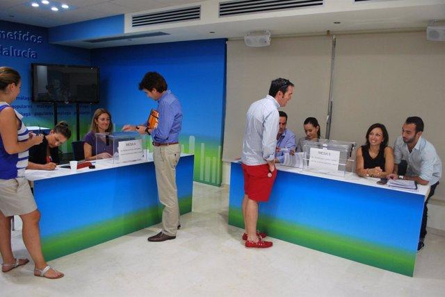 Asambleas del PP de Málaga para elegir los compromisarios