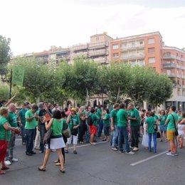 Manifestación Frente Al Palacio De Gobierno