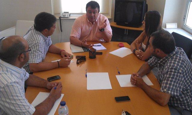 El delegado de Empleo en Huelva, Eduardo Muñoz.