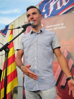 Purito Rodríguez homenaje pabellón Partes del Vallès