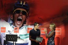 """Aguirre, """"orgullosa"""" de Contador: """"Para él es importante por los tiempos difíciles que has pasado"""""""
