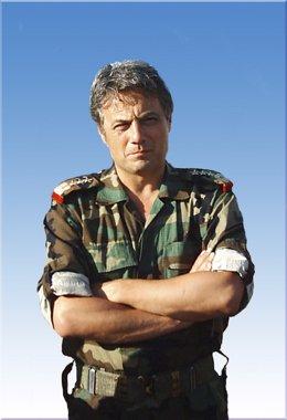 El general sirio Manaf Tlas