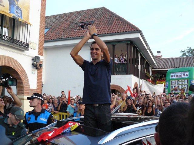 Homenaje Alberto Contador Pinto Vuelta España