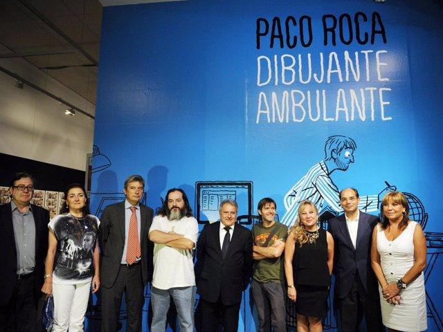 Inauguración De La Exposición De Paco Roca