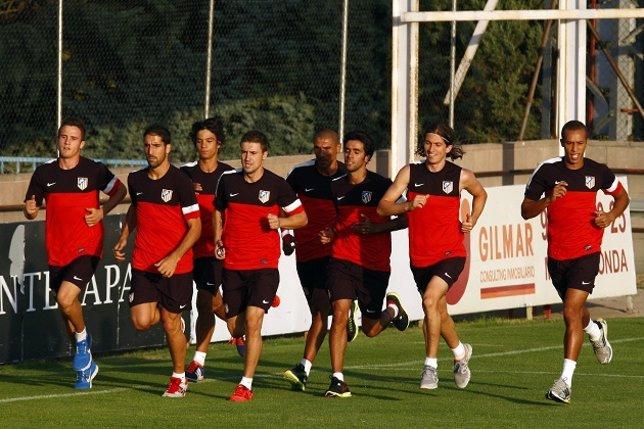 Entrenamiento Atlético de Madrid