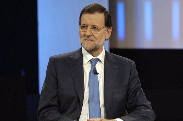 Mariano Rajoy en TVE