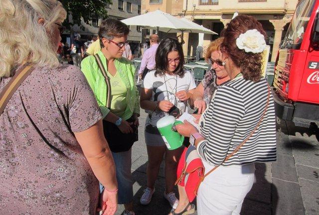 Cuestación este martes en la Plaza del Corrillo de Salamanca