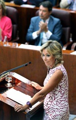Aguirre en el Pleno del Estado de la Región