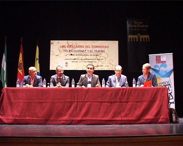 Curso Sobre Felipe Godínez En Moguer.