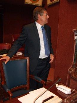 Juan Bernal en la Asamblea Regional