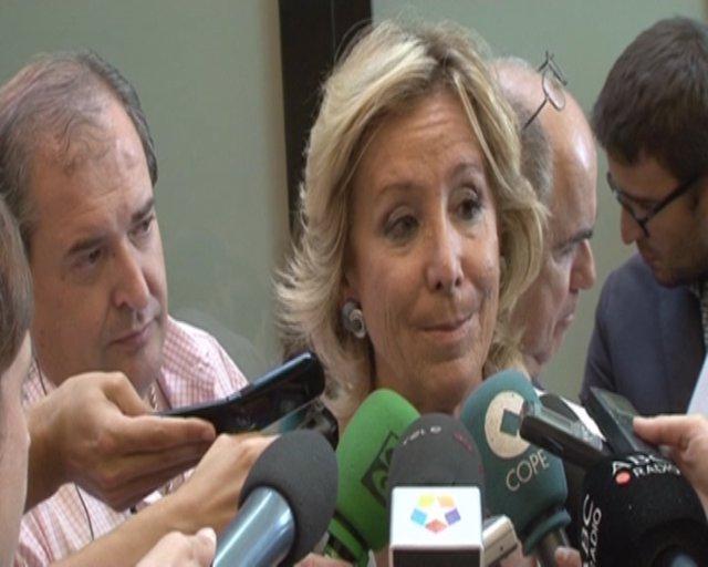 Aguirre intuye que Eurovegas se quedará en Alcorcón