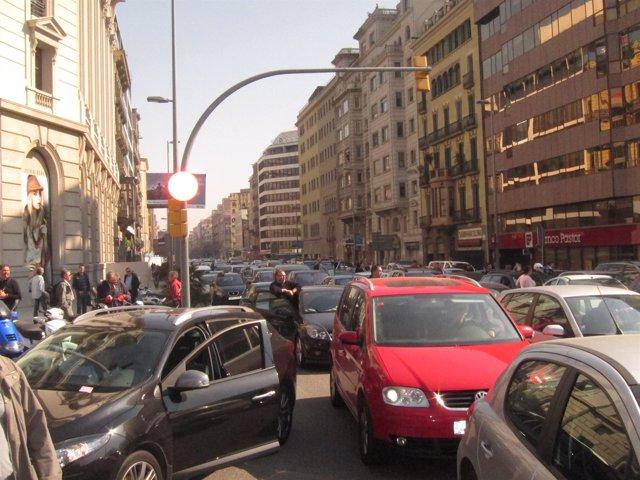 Tráfico Cortado En Aragón Con Passeig De Gràcia El 29M
