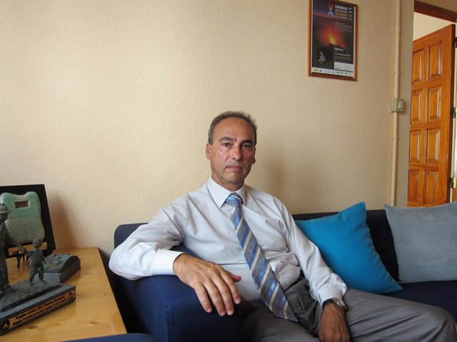 Carlos Piñero, Presidente De Cruz Roja En Santa Cruz De Tenerife