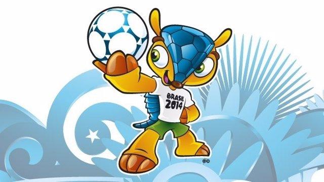 Armadillo mascota del Mundial de Brasil 2014