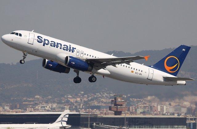 Un Avión De Spanair