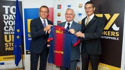 El FC Barcelona y la Comisión Europea, juntos en la lucha contra el tabaquismo