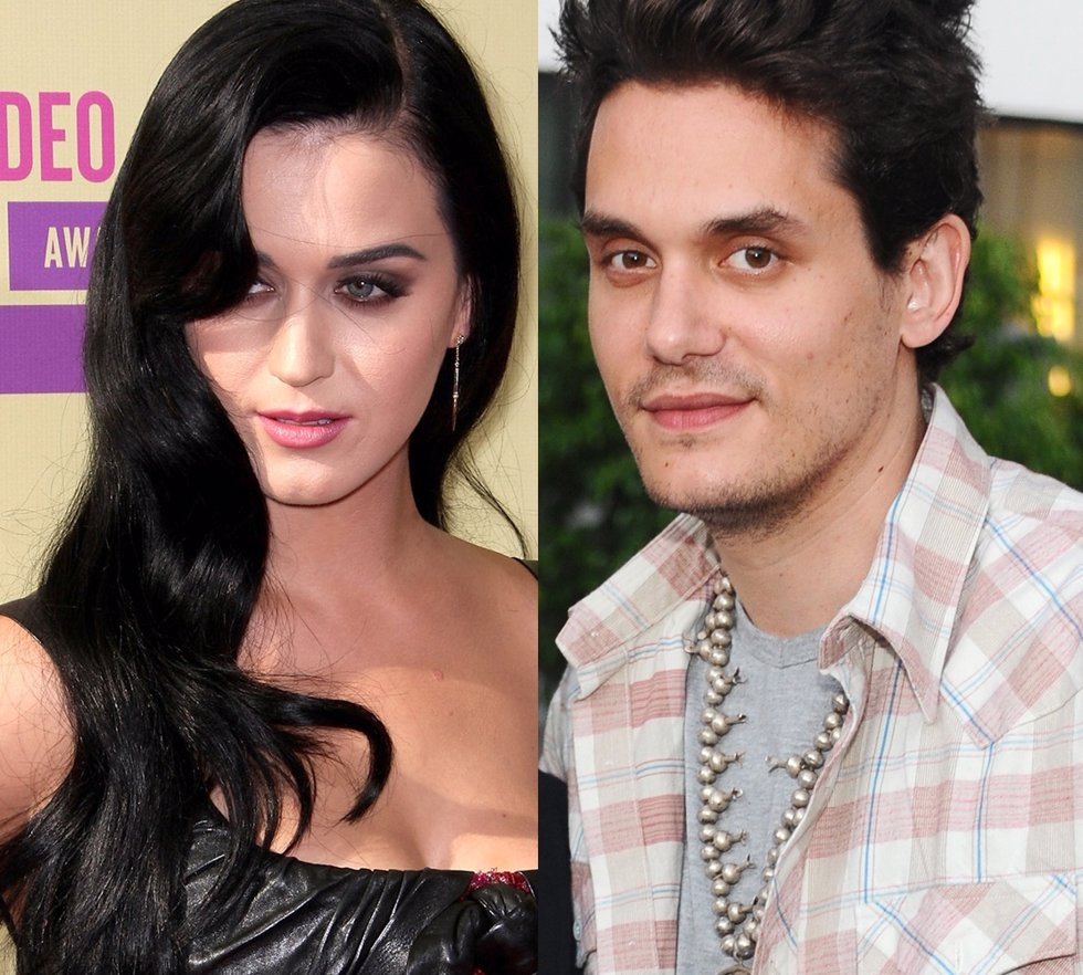 Montaje de Katy Perry y John Mayer