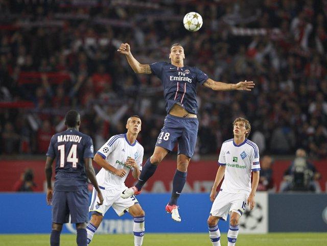 PSG Dinamo de Kiev Ibrahimovic Liga Campeones