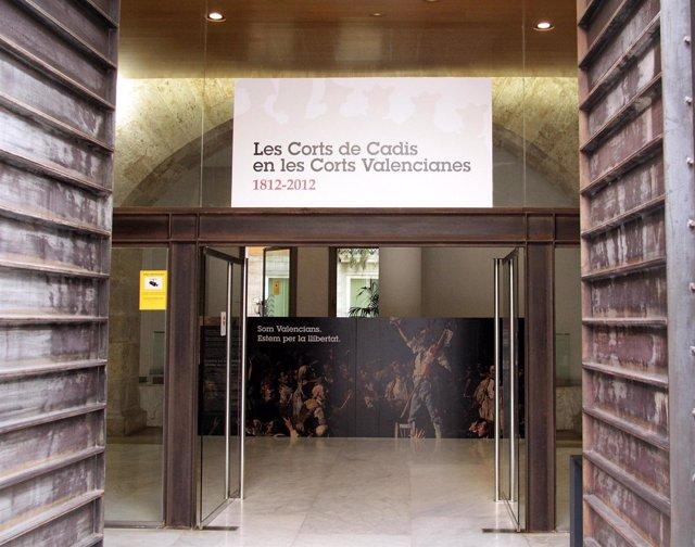 Entrada A Las Corts Anuncia La Exposición Sobre Las Cortes De Cádiz De 1812