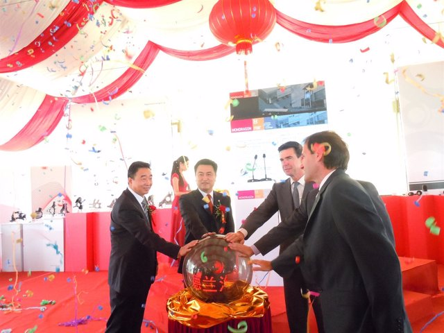 Inauguración de Mondragón en China