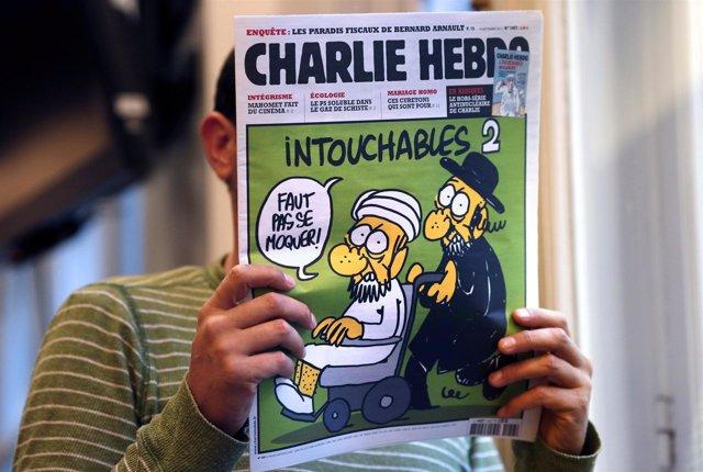 ILa revista satírica francesa 'Charlie Hebdo'