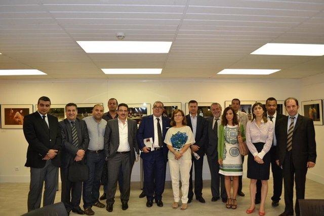 Reunión FAPE con periodistas marroquíes