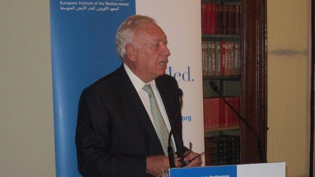 El Ministro José Manuel García Margallo