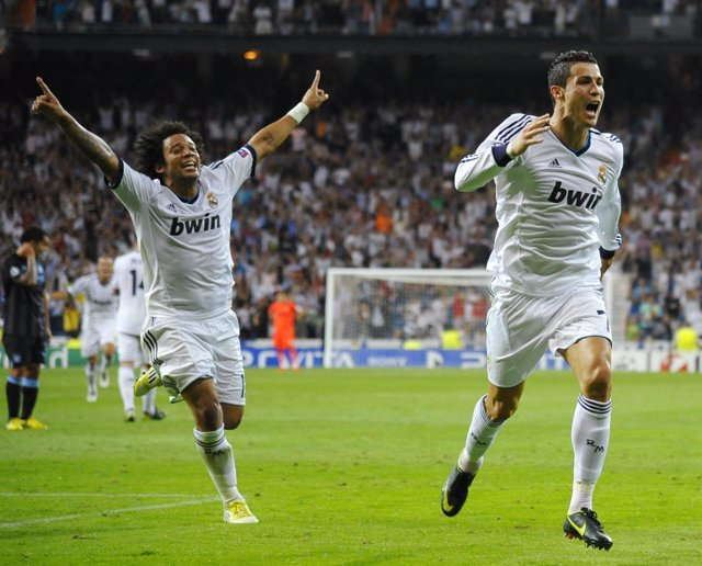 Cristiano Ronaldo Marcelo Real Madrid Manchester City Liga Campeones