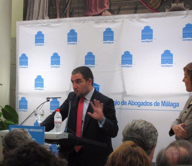 El presidente del Diputación de Málaga, Elías Bendodo,