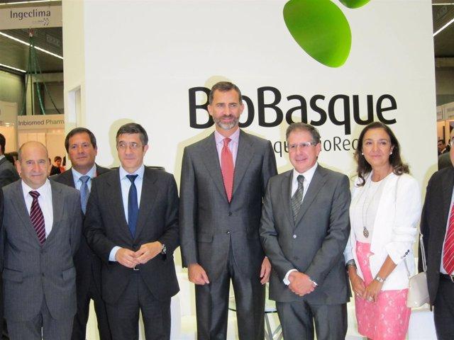 El príncipe Don Felipe inaugura BioBasque