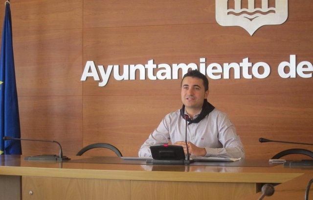 El concejal de Festejos, Pedro Muro