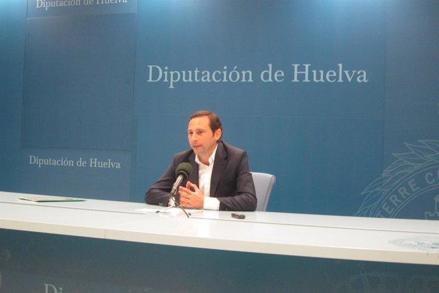 El diputado de Infraestructuras en Huelva, Alejandro Márquez.