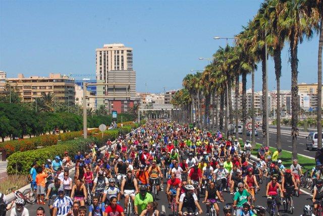 3ª Gran Fiesta De La Bici De Las Palmas De Gran Canaria