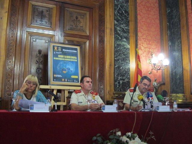 Pilar Zaragoza, Francisco José Gan y Gonzalo Escalona.