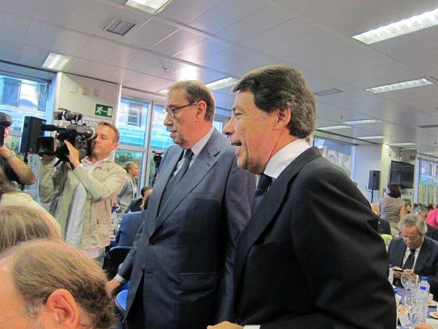 El presidente madrileño en funciones, Ignacio González, en su primer acto públic