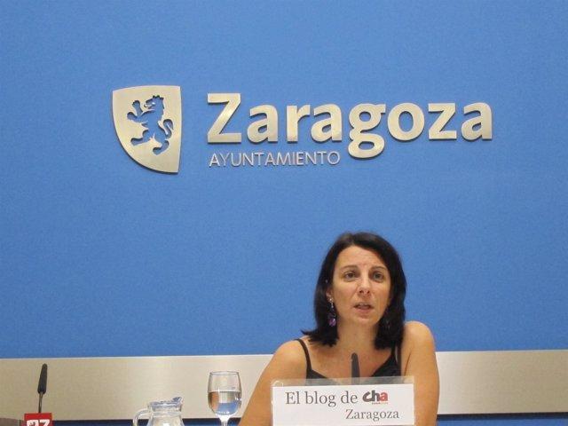 La concejal de CHA Letica Crespo