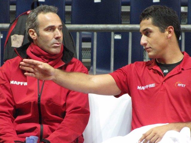 Álex Corretja Y Nicolás Almagro