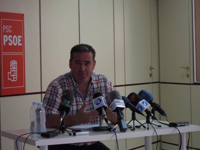 Manuel Fumero, En Rueda De Prensa