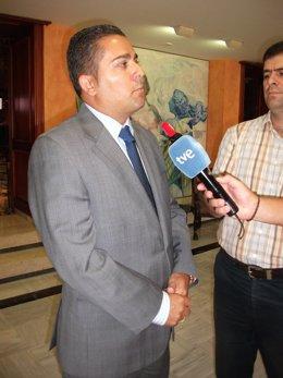 El diputado del Grupo Parlamentario Popular, Jesús Cano