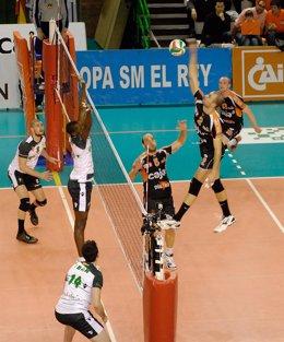 El Caja 3 Teruel, Finalista De La Copa Del Rey De Voleibol