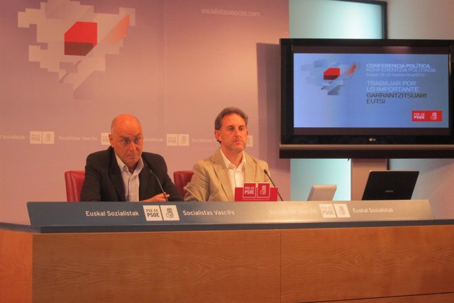 Rodolfo Ares y Alfonso Gil (PSE)