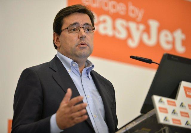 Javier Gándara, director general de easyJet para España y Portugal