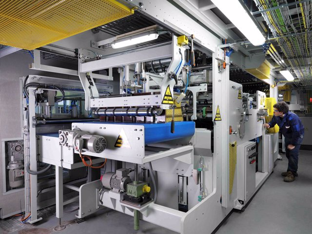 Máquina cortadora de papel de Pasaban