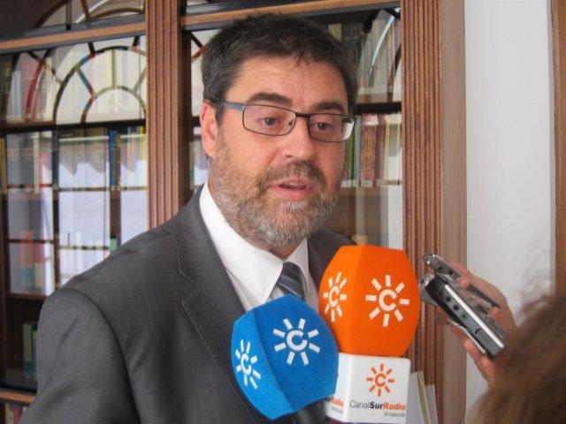 El presidente de la Cámara de Cuentas de Andalucía, Antonio López