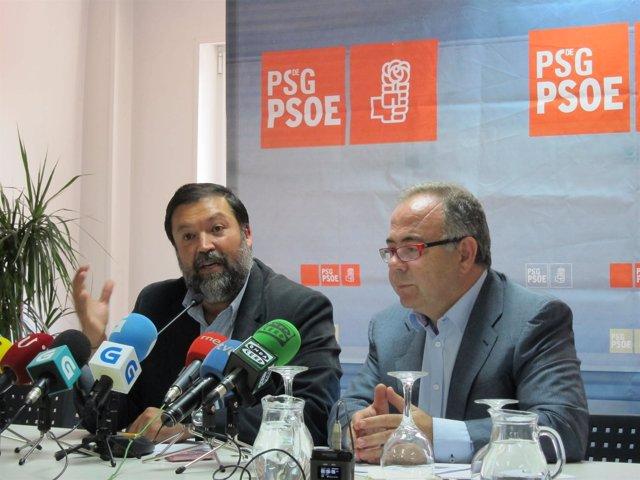 Francisco Caamaño y Xosé Sánchez Bugallo