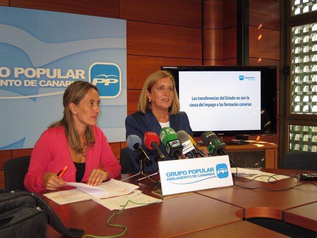 Mayte Pulido Y Mercedes Roldós, En Rueda De Prensa